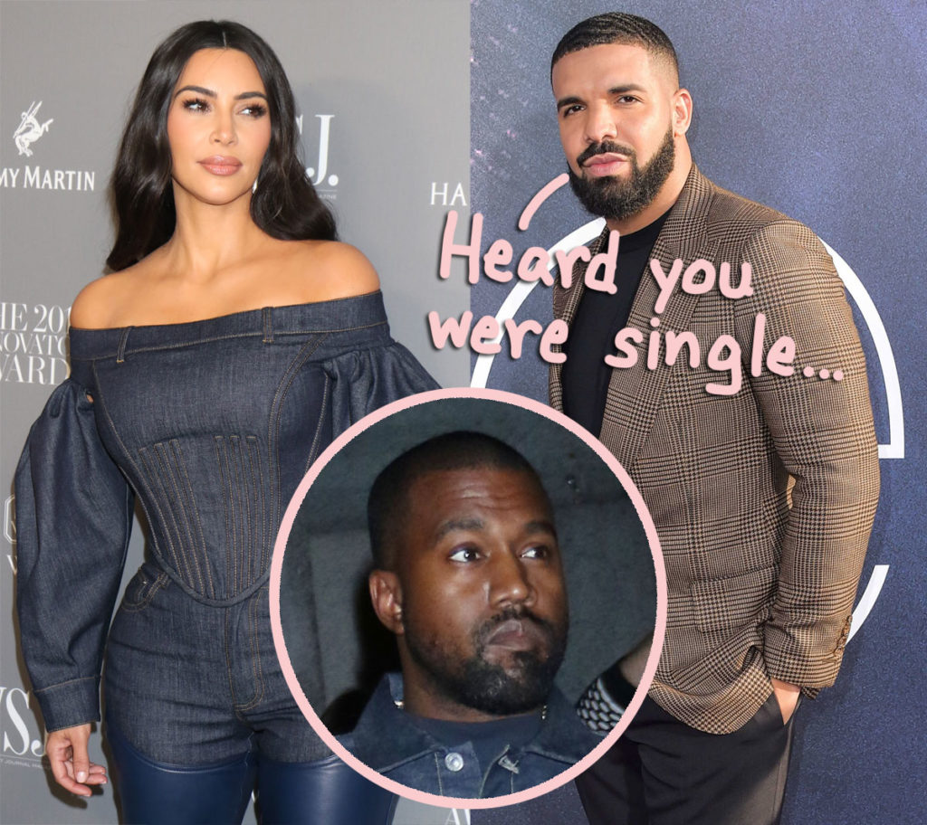 Drake has apparently been sliding into Kim Kardashian's direct messages amid this Kanye West divorce!