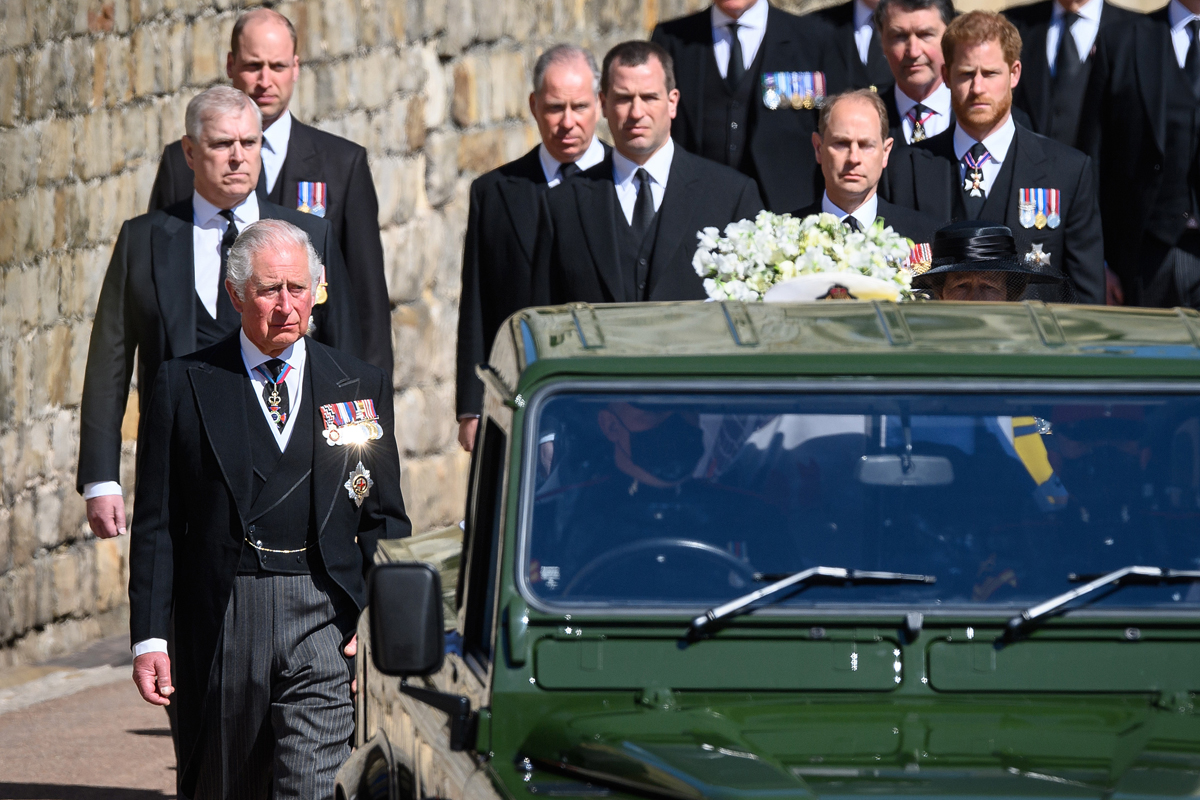Prince William 'Requested' To Not Walk Beside Harry At Prince Philip's Funeral