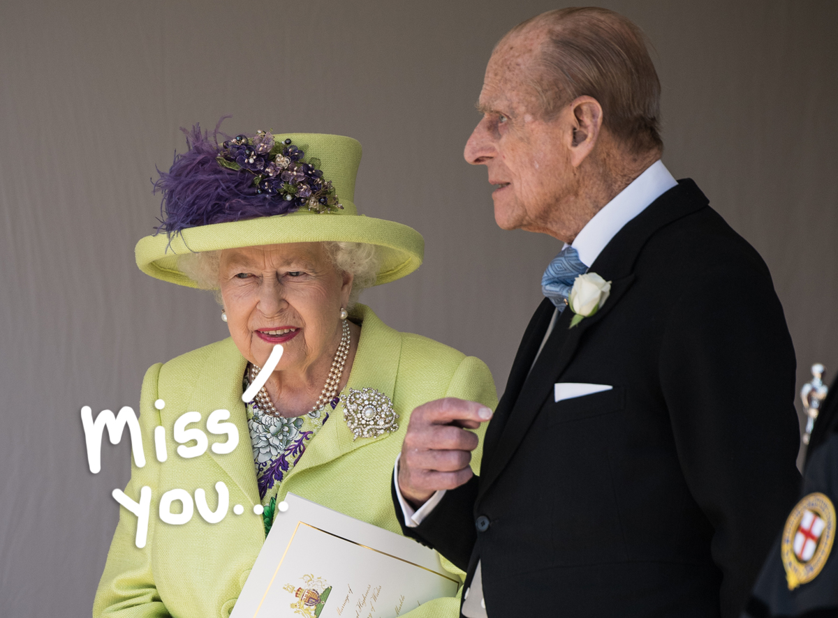 Queen Elizabeth Shares Touching Tribute For Late Husband Prince Philip, Says He Was Her 'Strength'