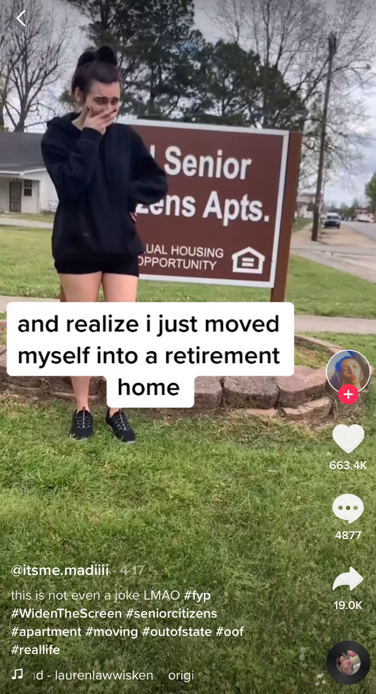 This Teenager Realizing She Accidentally Moved Into A Retirement Home Is HYSTERICAL!