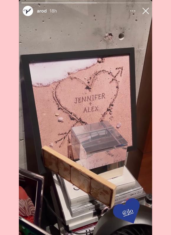 alex rodriguez, jennifer lopez : post-breakup ig story 2