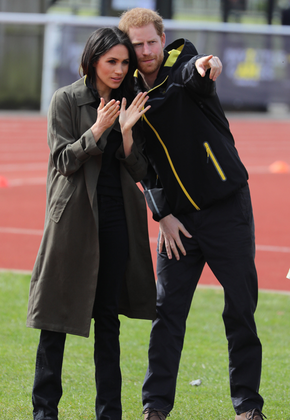 prince harry, meghan markle : at invictus trials 2019