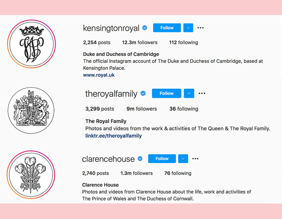 prince philip : royal family instagram icon tributes