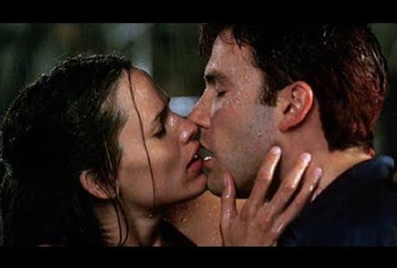 Ben Affleck and Jennifer Garner in Daredevil