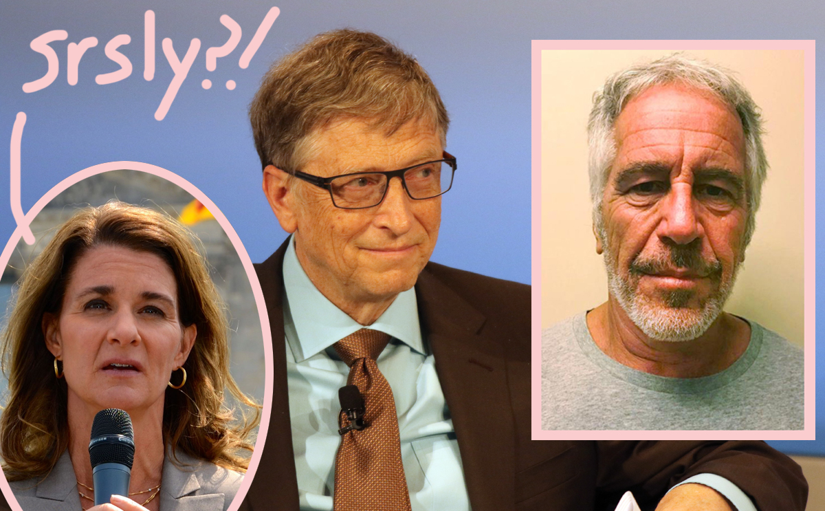 Bill Gates Was Friendly With Jeffrey Epstein -- And It HAUNTED Melinda!