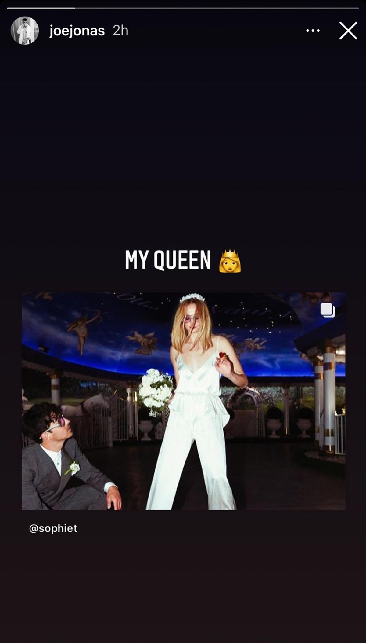 Sophie Turner Shares Never-Before-Seen Pics Of Her & Joe Jonas' Vegas Wedding!