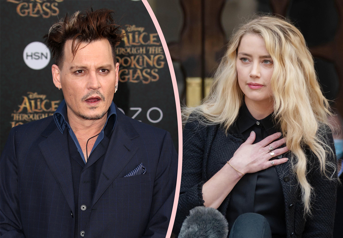 Amber Heard DIDN'T WRITE Her Op-Ed Accusing Johnny Depp Of Domestic Violence?!