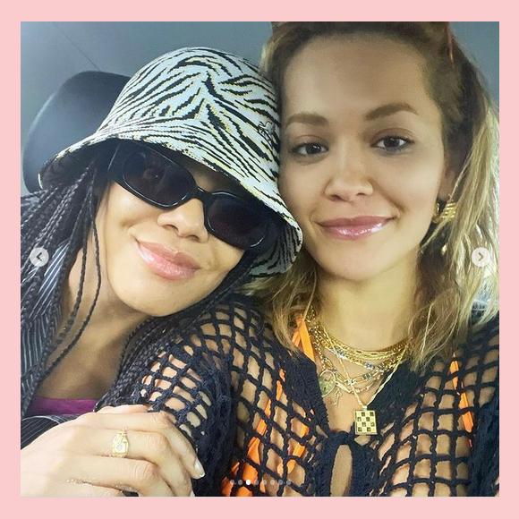 Rita Ora Instagram Tessa Thompson