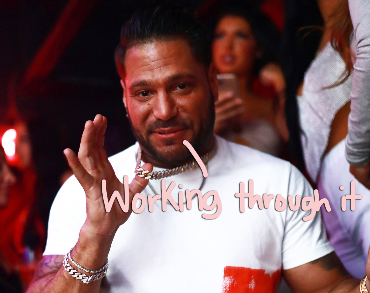 Ronnie Ortiz-Magro Shares 'Mental Illness' Post After Domestic Violence Charge