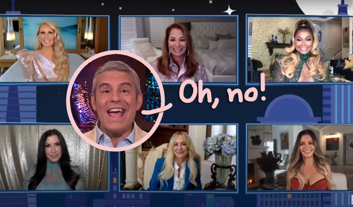 Ex Real Housewives Stars Dogpile On Andy Cohen In Viral WWHL Revenge Moment! WATCH!