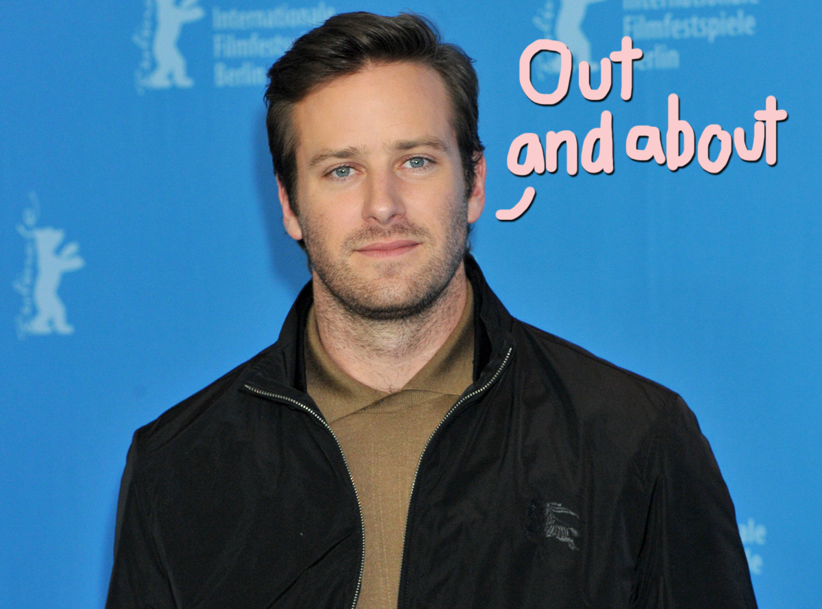 Armie Hammer Spotted Out For The First Time Since March Rape Allegation