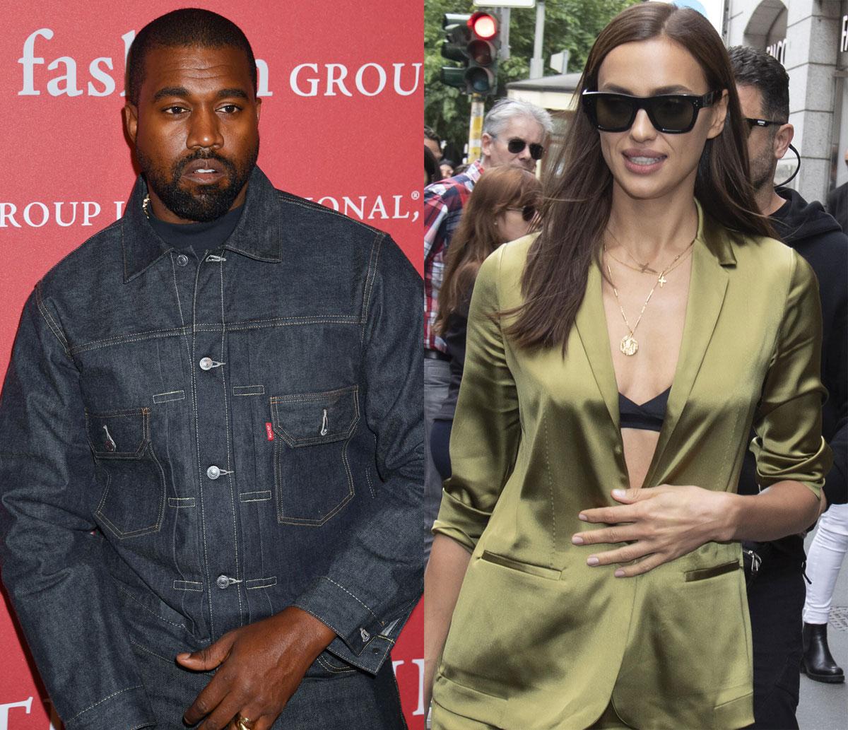 Kanye West 'Secretly Dating' Supermodel Irina Shayk! - Perez Hilton