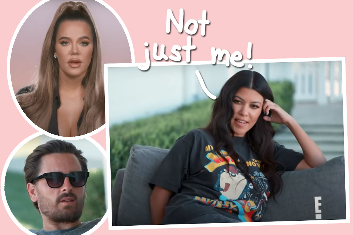 Kourtney Kardashian Reacts To Accusations She 'Single-Handedly' Ended The Family's Run On KUWTK, And...
