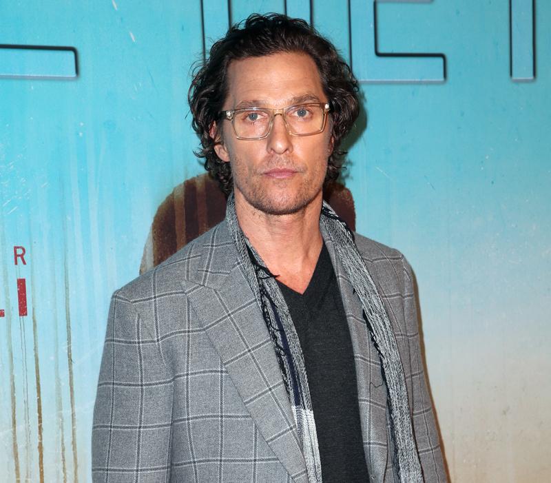 Matthew McConaughey haunted house