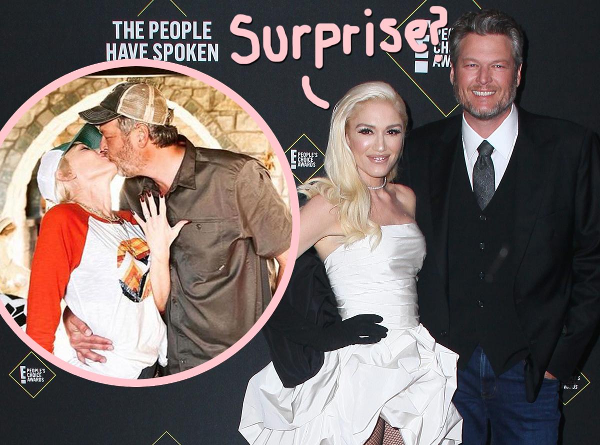 Did Gwen Stefani & Blake Shelton Already Secretly Tie The ...