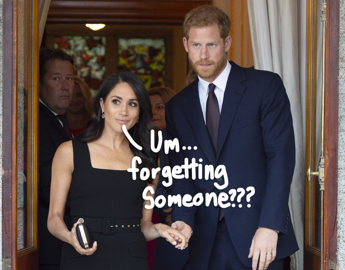 Meghan Markle & Prince Harry's Daughter Lilibet Is Still Missing From The Official Royal Line Of Succession Weeks…