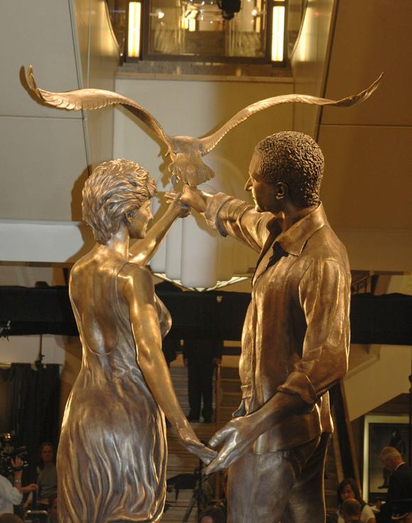 Diana and Dodi memorial