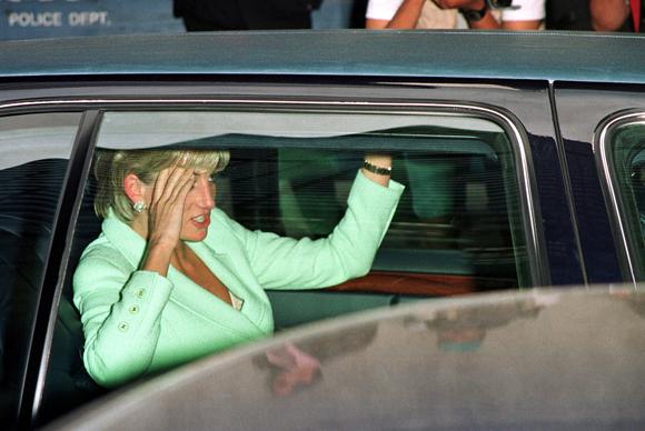 Princess Diana car