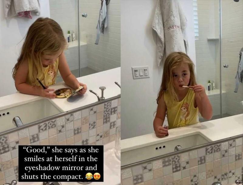jade roper daughter makeup