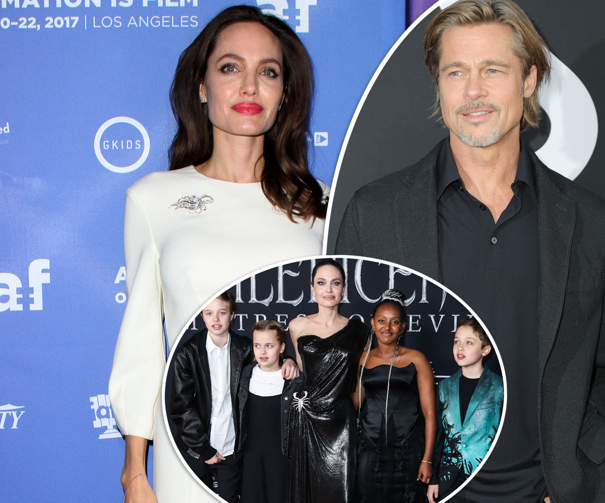 Angelina Jolie Says She Feared For The Safety Of Her 'Whole Family' While Married To Brad Pitt