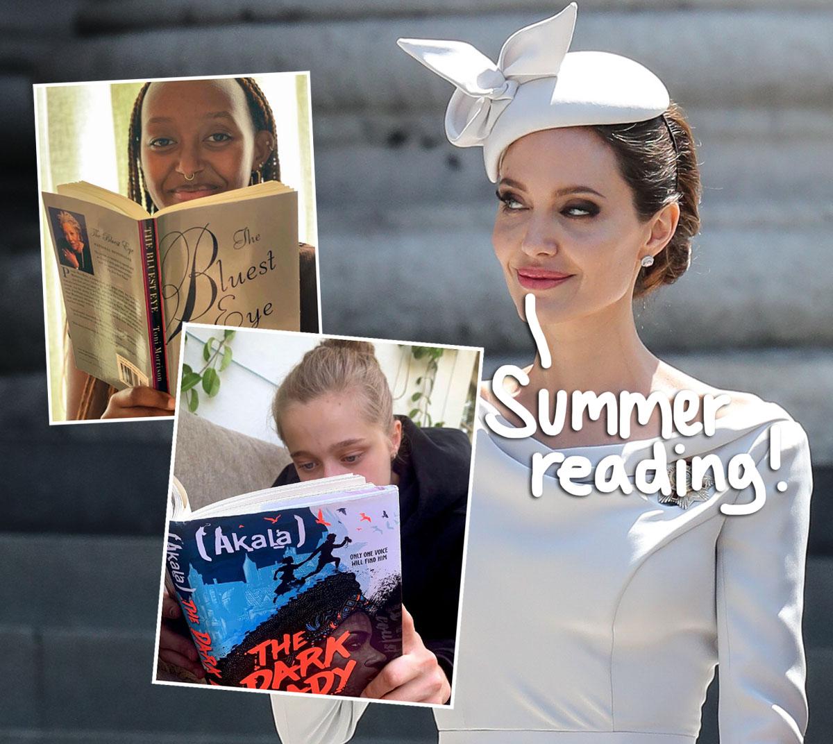 Angelina Jolie Shares Super Rare Photos Of Teens Zahara & Shiloh On Instagram