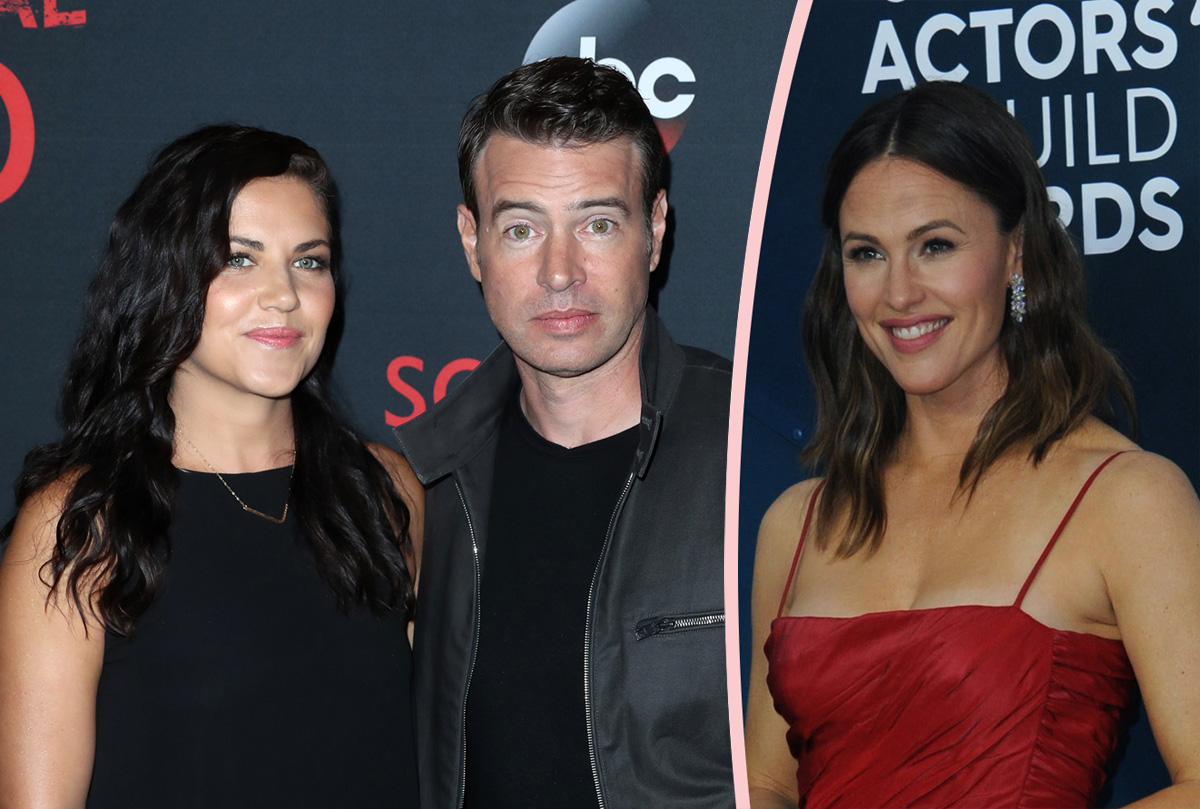 OMG Scott Foley Is TERRIFIED Of His Wife…