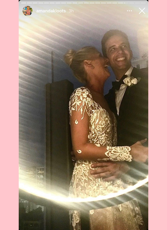 amanda kloots, nick cordero : wedding picture shared for anniversary