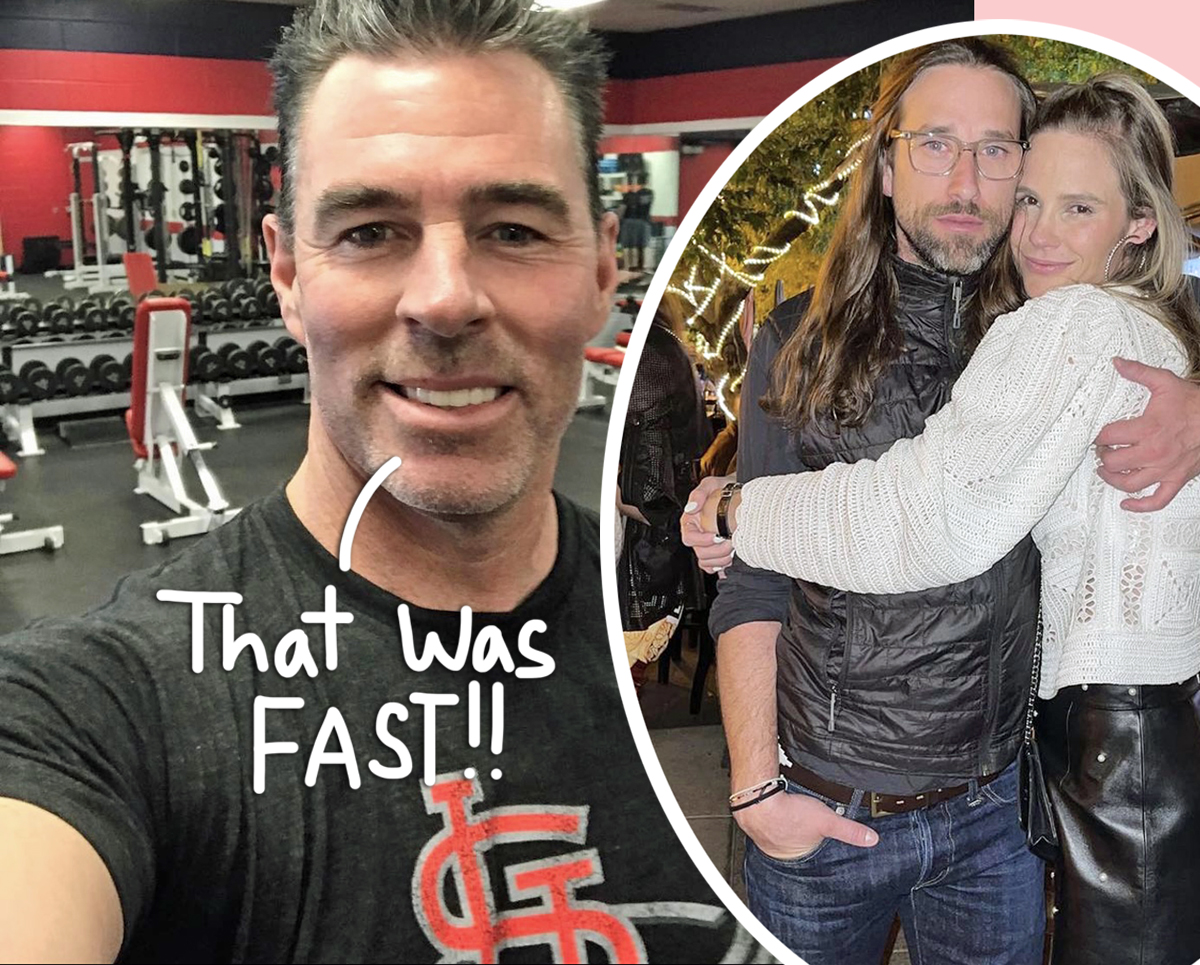 Jim Edmonds BLASTS Ex Meghan King's New Marriage To Cuffe Owens: 'Is She Pregnant?'