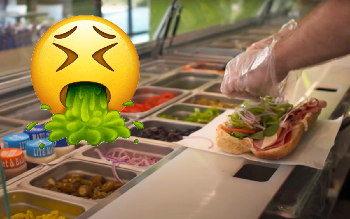 Subway Worker Fired After Filming Himself Walking On Food & Placing It On Toilet -- WTF??