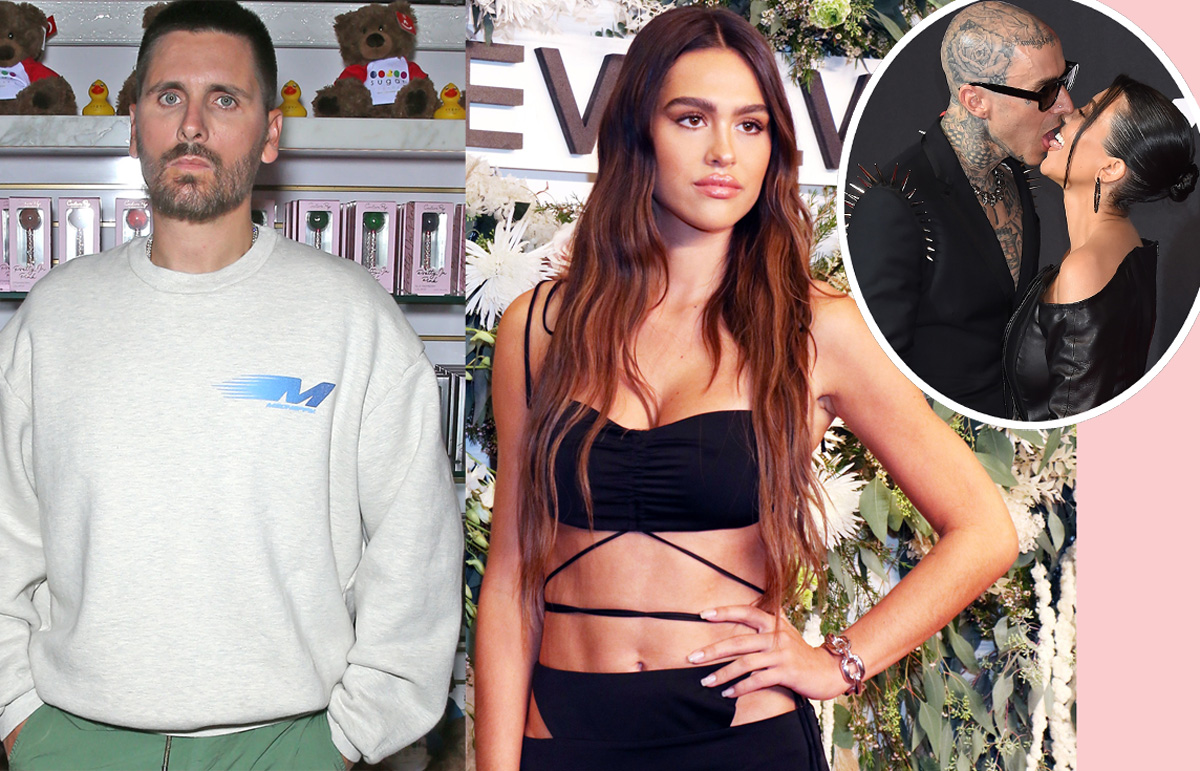 Amelia Hamlin Just Let Her Feelings Be Known Regarding Kourtney Kardashian's Engagement To Travis Barker!